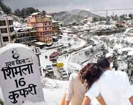 shimla honeymoon tour packages from chandigarh