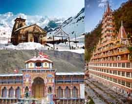 chardham yatra tour package from haridwar