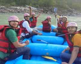rishikesh rafting tour packages from delhi